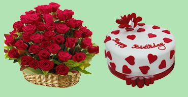 Online cake combo delivery in Ranchi