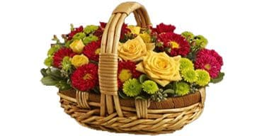 online Flower Baskets in lucknow